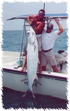Port O'Connor Tarpon Fishing Guide